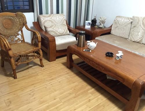 竹地板安装